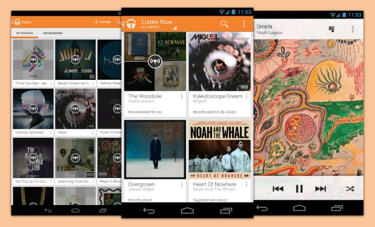 lecteurs de musique pour android meilleures applications. Black Bedroom Furniture Sets. Home Design Ideas