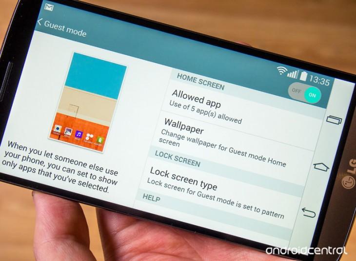 Comment utiliser le mode Invité sur le LG G3