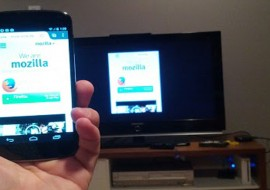 Firefox pour Android bêta teste la diffusion streaming avec le navigateur