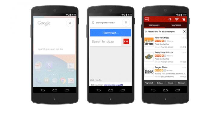Pour les développeurs : Comment permettre à Google Now de chercher dans votre application