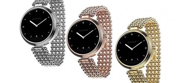 Omate présente Lutetia, la première Smartwatch spéciale pour les femmes