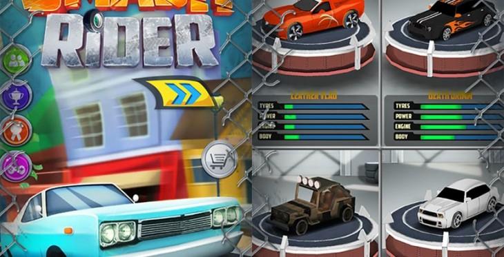 Le jeu Smash Rider débarque sur Android