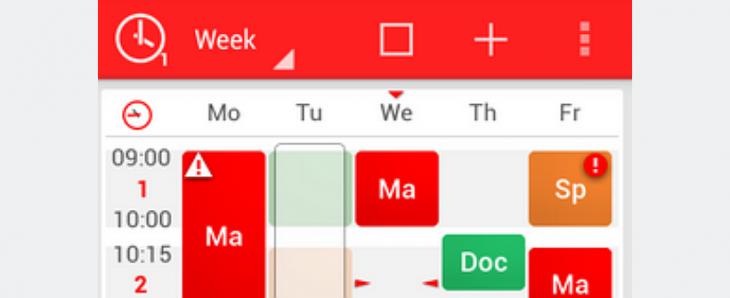 TimeTable++ Schedule permet aux étudiants de gérer leur emploi du temps