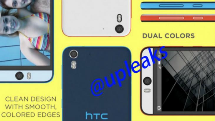 Une fuite du HTC Desire Eye nous montre un APN frontal pour le Selfie ultime