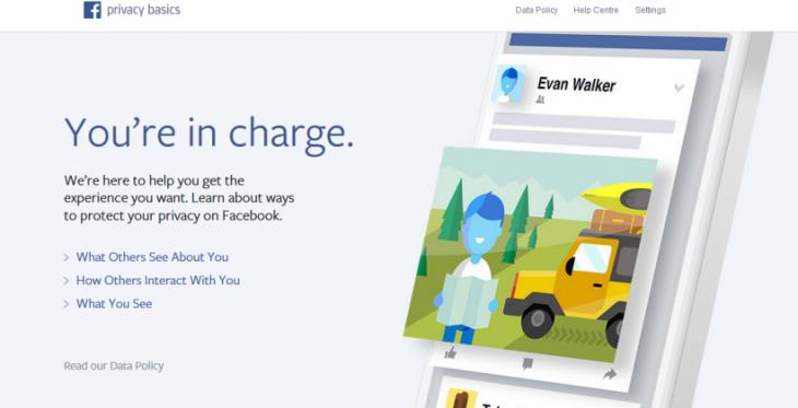 Le Privacy Basics de Facebook aide les utilisateurs à se responsabiliser