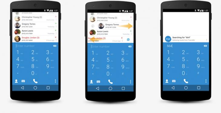 L'application Truedialer vous aide à gérer vos contacts et vos appels