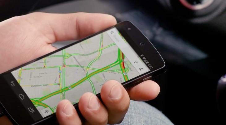 Une mise à jour de la navigation vocale de Google Maps pour vous guider sur les autoroutes européennes