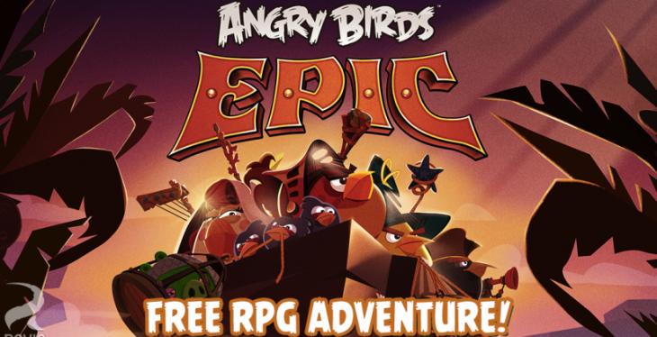 Roviot met à jour Angry Birds Epic en proposant le genre RPG