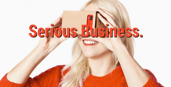 Google Cardboard ambitionne de démocratiser le casque de réalité virtuelle pour le grand public