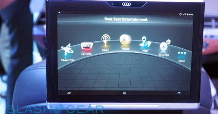 Test de la tablette Android d'Audi