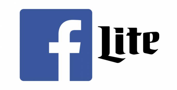 Facebook Lite, une application avec des fonctions basiques