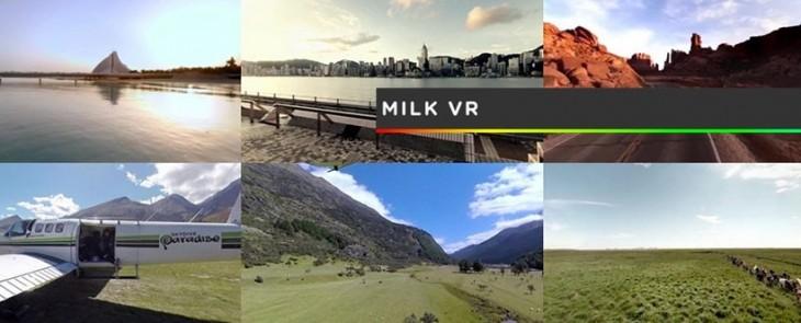 Appréciez la réalité virtuelle avec le Milk de Samsung pour son Gear VR