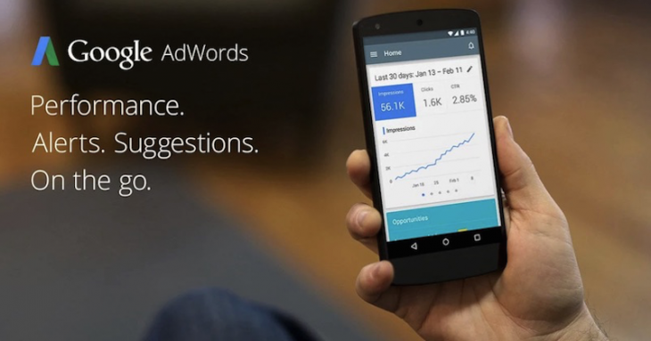 Google propose l'application officielle d'Adwords uniquement au Canada