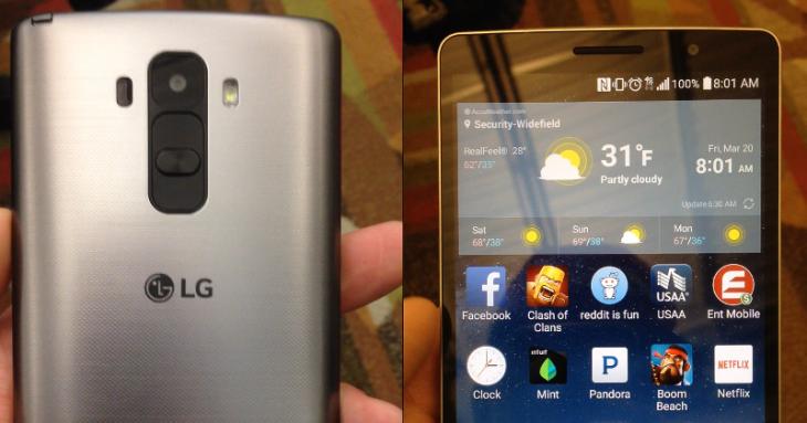 Une fuite de photos pourrait concerner le LG G4 ou une variante du G4 Note