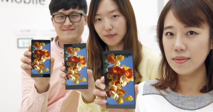 LG annonce un écran de 5,5 pouces en QHD pour le nouveau G4