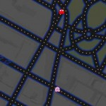 Poisson d'avril de Google, une invasion de Pacman dans Google Maps