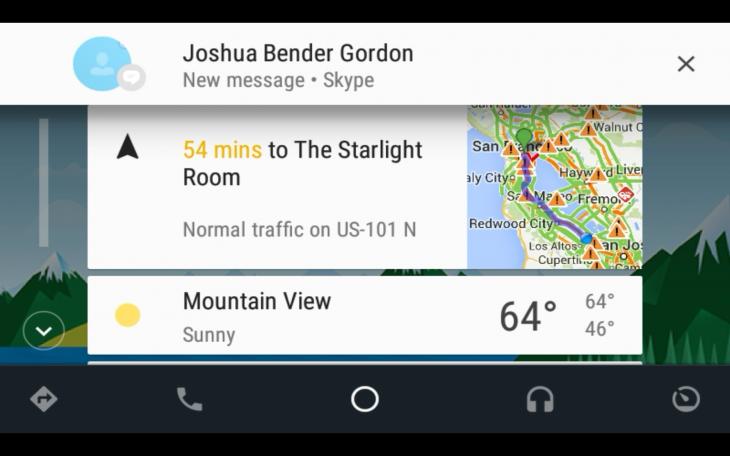La messagerie d'Android Auto vous permet d'être connecté en restant concentré