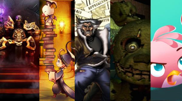 Les meilleurs jeux Android de mars 2015