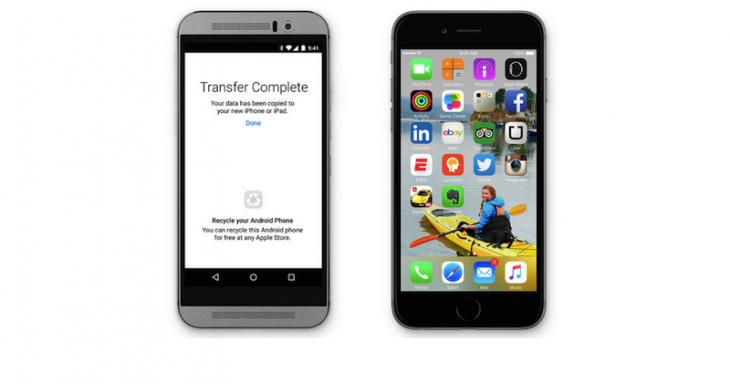Apple permet désormais la migration d'Android vers l'iPhone