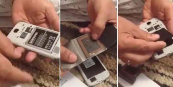 Une vidéo virale qui prétend que la batterie de votre Smartphone peut voler vos images