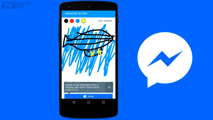 Doodle Draw est le premier jeu Facebook sur Messenger