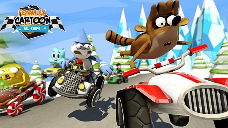 Courez avec votre personnage préféré de Cartoon Network dans Formula Cartoon All-Stars