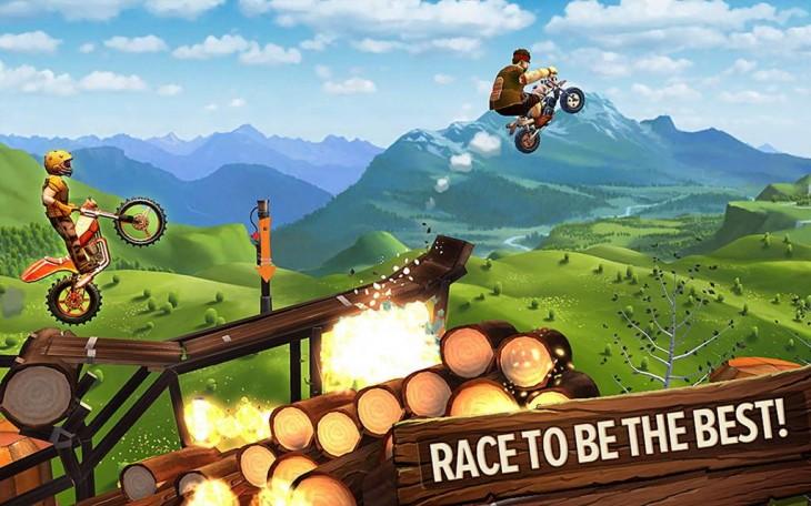 Les jeux de motos Trials débarquent sur mobile avec Trials Frontier