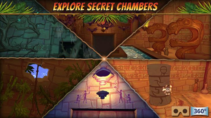Hidden Temple vous permet d'explorer la profondeur de la jungle en réalité virtuelle