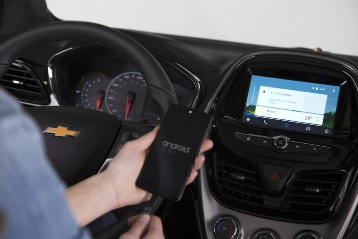 Chevrolet estime qu'Android Auto va débarquer dans les voitures en mars 2016
