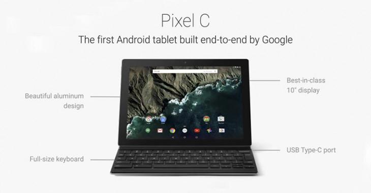 Pixel C, la tablette Android entièrement fabriquée par Google