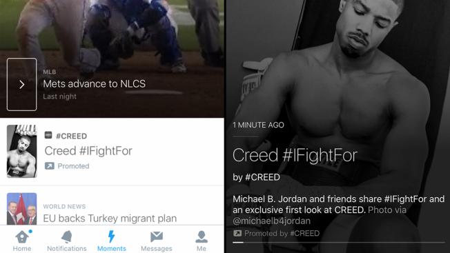 Twitter propose désormais des «Moments» sponsorisés