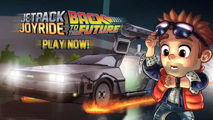 Célébrez le film Retour vers le futur avec le jeu Jetpack Joybride