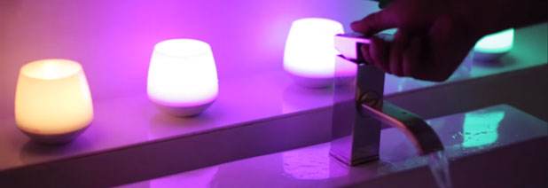 Test de la bougie LED Candle Playbulb