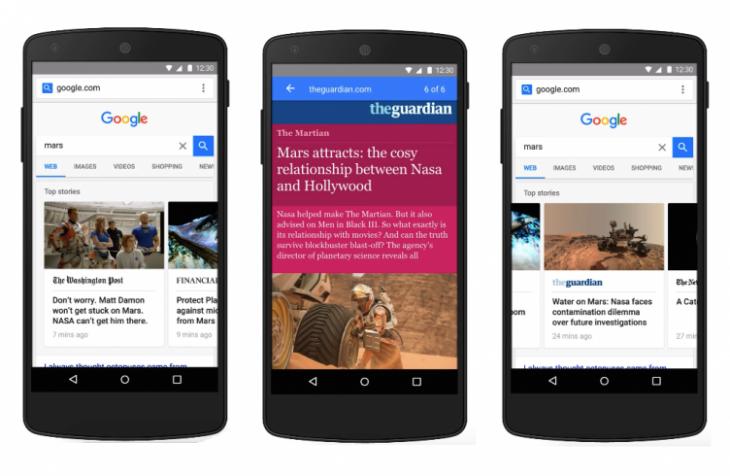 Google veut accélérer le web avec les pages AMP