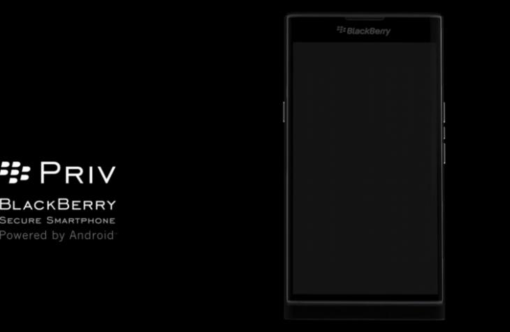 Une vidéo sur le Blackberry Priv pour attirer de nouveaux utilisateurs
