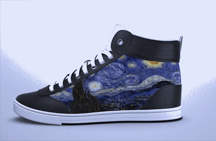 ShiftWear : une chaussure avec un affichage dynamique
