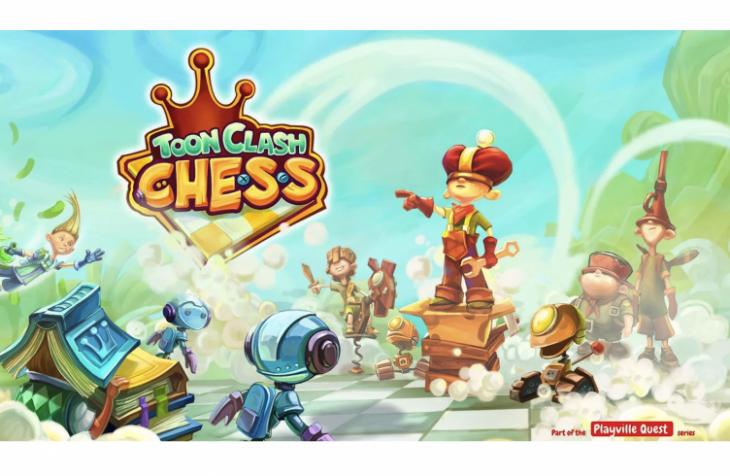 Toon Clash Chess vous permet de jouer aux échecs avec des personnages animés
