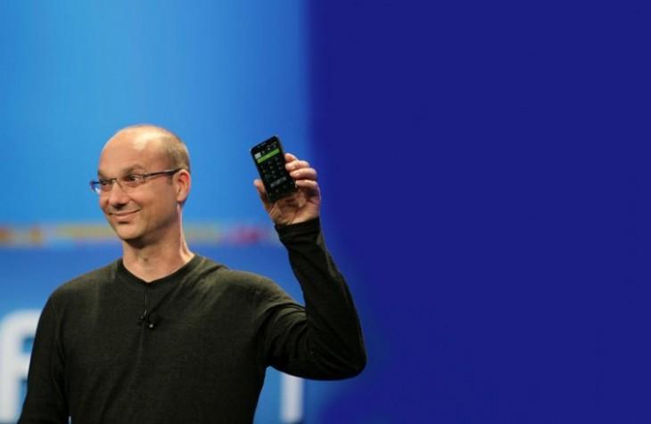 Andy Rubin pourrait faire un retour dans l'industrie du Smartphone