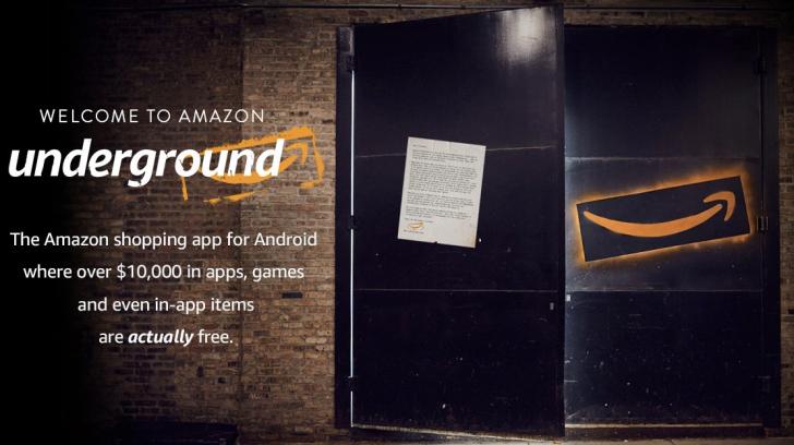 Amazon Undergroud ajoute de nouveaux pays pour ses applications gratuites