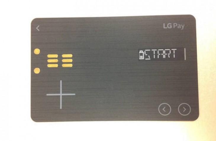 Fuite sur la LG Pay White Card qui veut remplacer toutes vos cartes de crédit