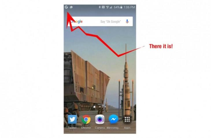 Google Now affiche un G dans ses notifications