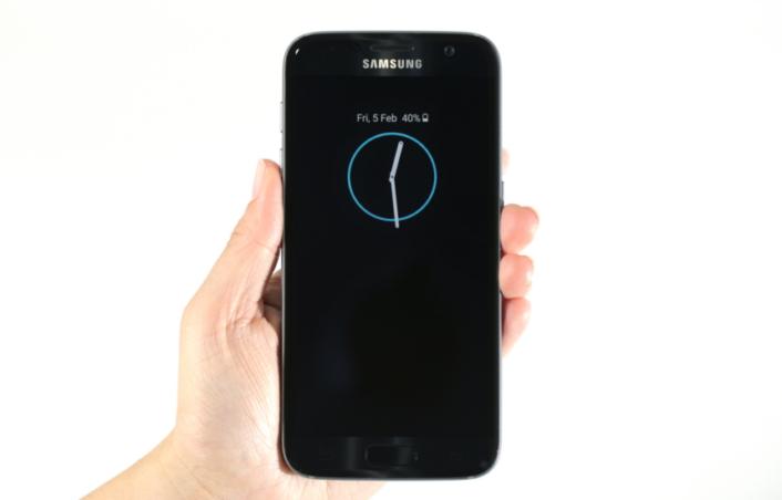 L'option Always On du Samsung Galaxy S7 propose le confort et l'économie d'énergie