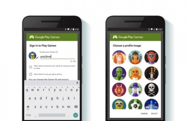 Google propose le Gamer ID, un profil pour vos jeux sur Android