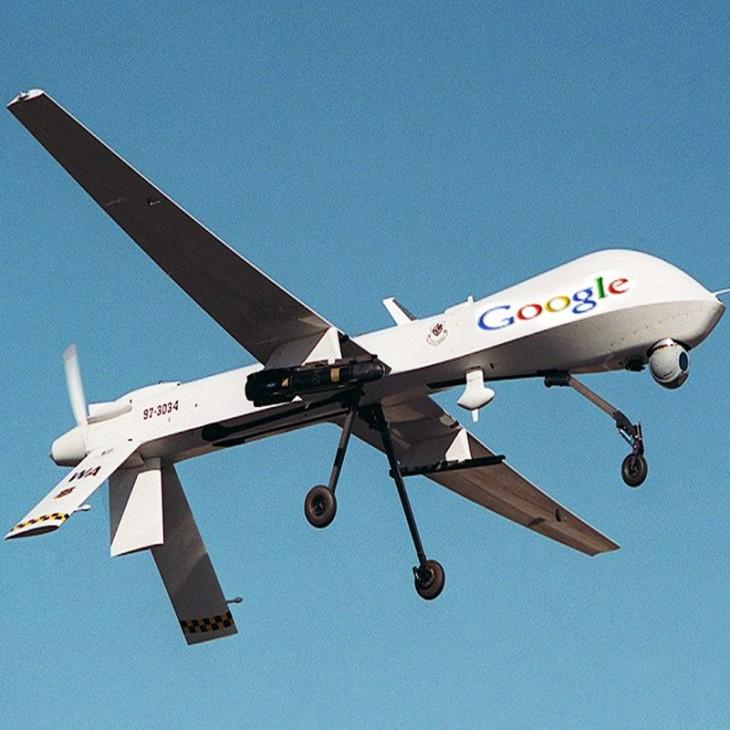 Google teste la connexion 5G avec des drones dans le projet Skybender