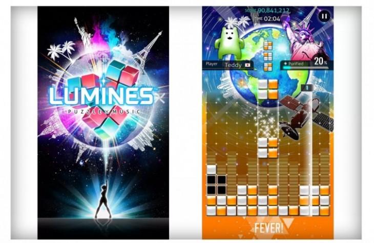 Le célèbre jeu Lumines sous PSP sera disponible sous Android cette année