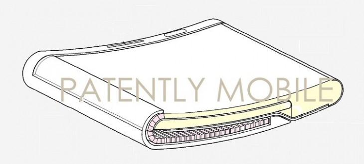 Samsung dépose des brevets pour un affichage extensible