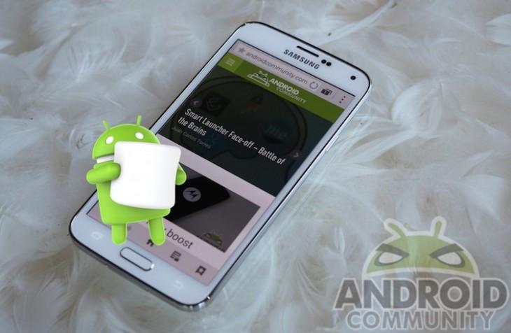 Le Galaxy S5 bénéficie de Marshmallow à Trinidad & Tobago