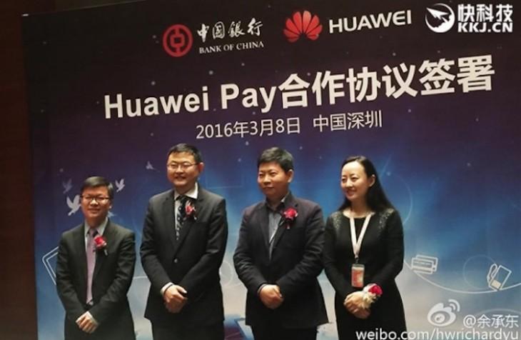 Huawei Pay est désormais disponible en Chine pour concurrencer Samsung et Apple