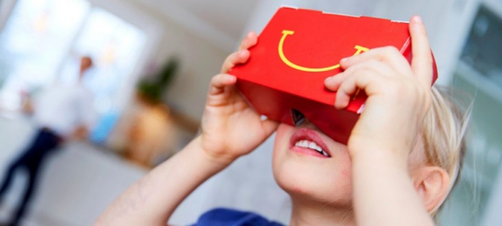 La boite Happy Meal de McDonald devient un appareil de réalité virtuelle