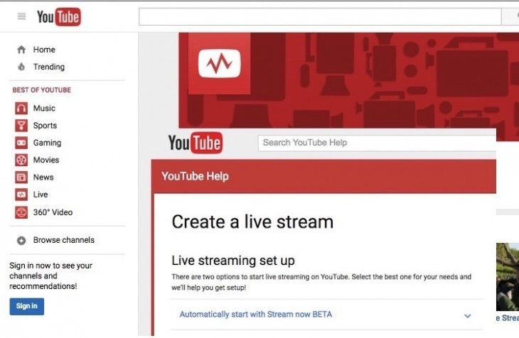 Youtube Connect veut concurrencer Periscope et Facebook Live